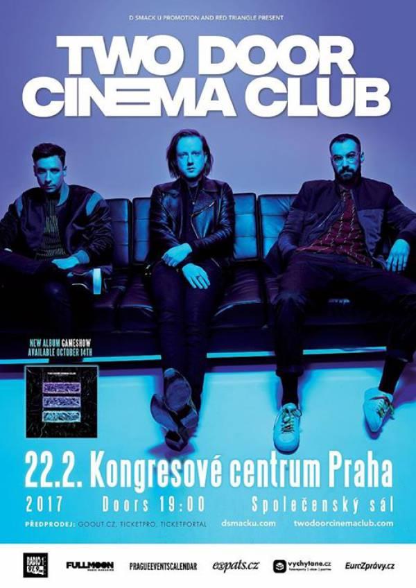 Two Door Cinema Club - Praha Koncert 22.2.2017 Kongresové ...